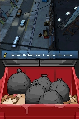 Et sous les poubelles, on a ...